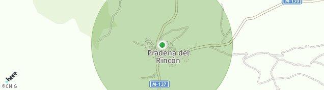 Mapa Prádena del Rincón