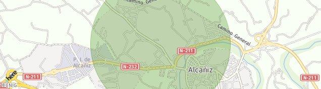 Mapa Alcañiz
