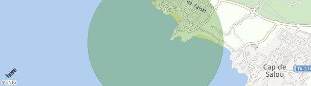 Mapa Salou