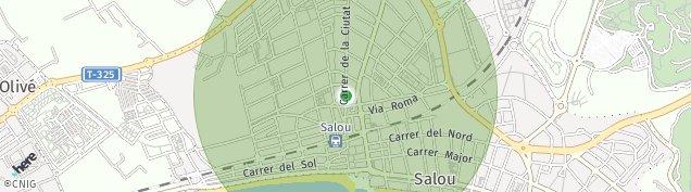 Mapa Reco de Salou