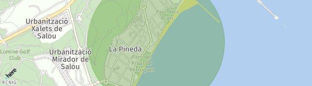 Mapa La Pineda