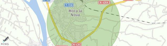 Mapa Móra la Nova