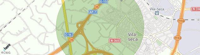 Mapa Vila-Seca