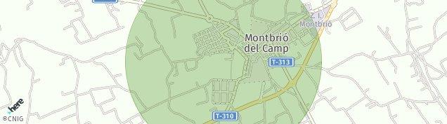 Mapa Montbrió del Camp