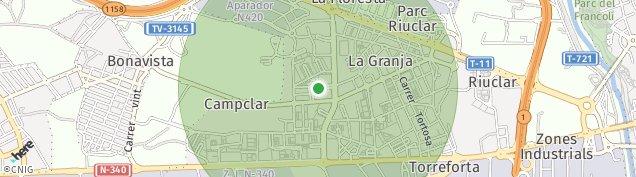 Mapa Bonavista