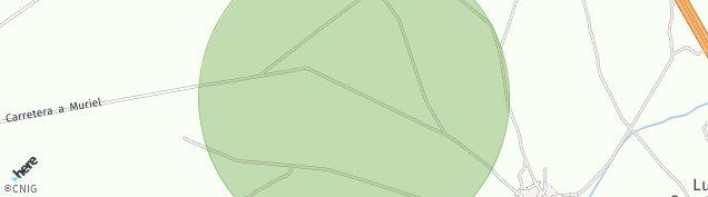 Mapa Palacios de Goda
