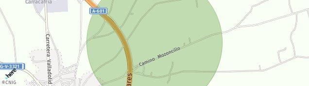 Mapa Carbonero el Mayor