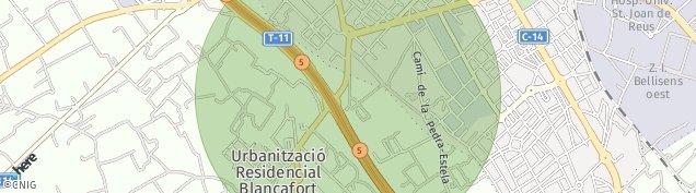 Mapa Reus