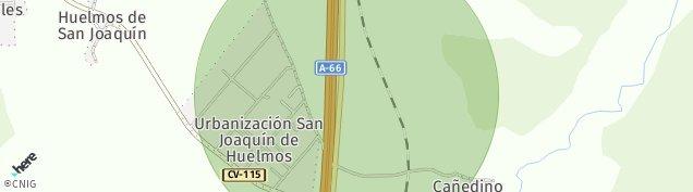 Mapa Estacion de Huelmos