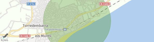 Mapa Torredembarra