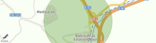 Mapa Medinaceli