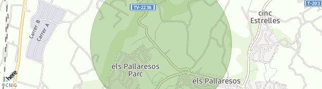 Mapa Els Pallaresos