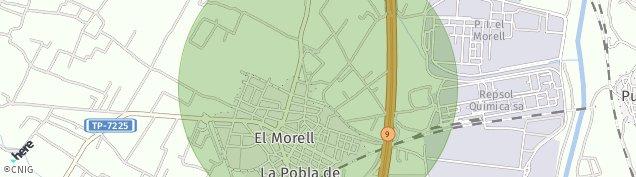 Mapa El Morell