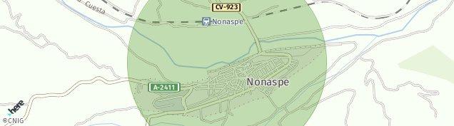 Mapa Nonaspe