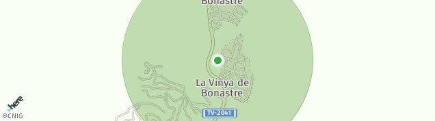 Mapa Bonastre