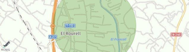Mapa El Rourell