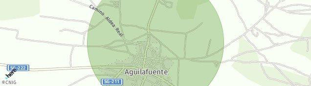 Mapa Aguilafuente