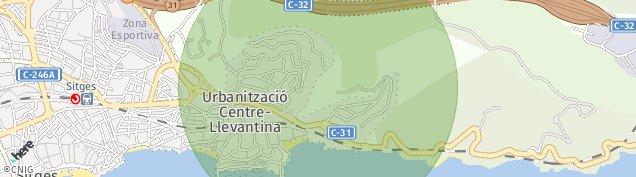 Mapa Vallcarca
