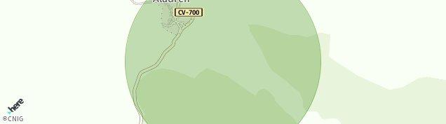 Mapa Aladrén