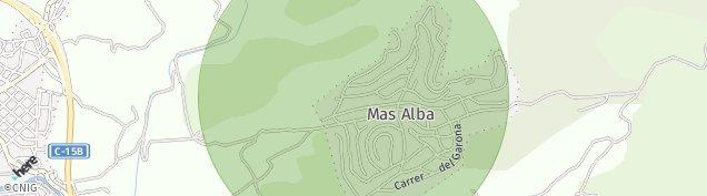 Mapa Sant Pere de Ribes