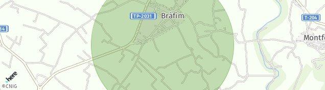 Mapa Brafim