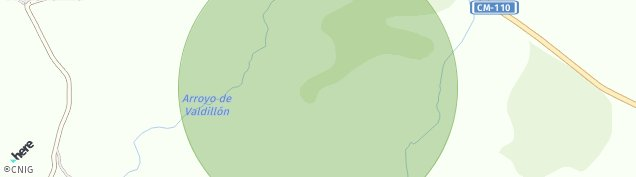 Mapa Villacadima