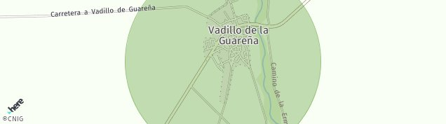 Mapa Vadillo de la Guareña