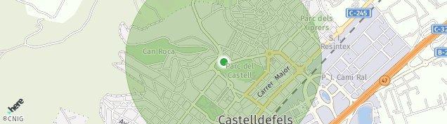 Mapa Castelldefels