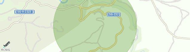 Mapa Sepúlveda