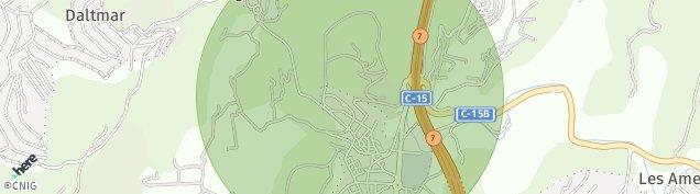 Mapa Canyelles