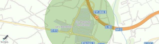 Mapa Vila-Rodona