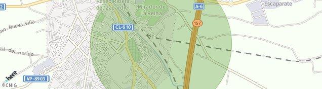 Mapa Medina del Campo