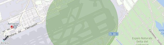 Mapa El Aeroport del Prat