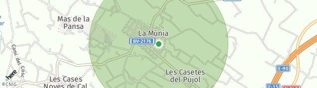 Mapa La Múnia