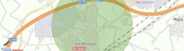 Mapa Les Salines