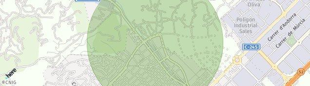 Mapa Viladecans