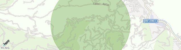 Mapa Sant Climent de Llobregat
