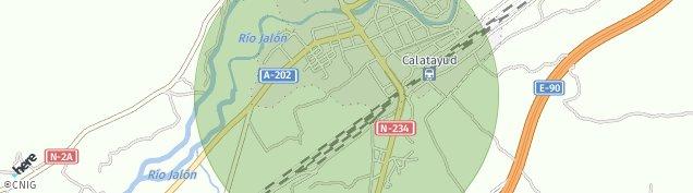 Mapa Calatayud