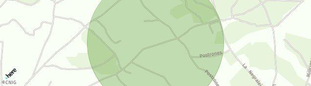 Mapa Arroyo de Cuellar