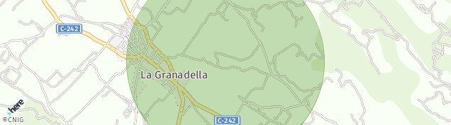 Mapa La Granadella