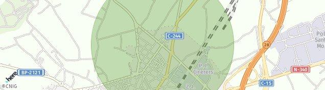 Mapa El Moli d'en Rovira