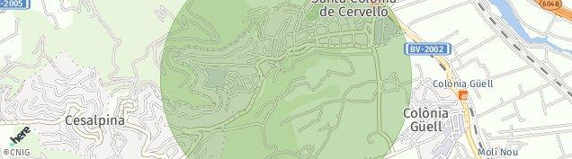 Mapa Santa Coloma de Cervelló