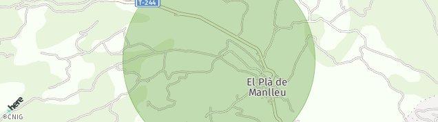 Mapa El Pla de Manlleu