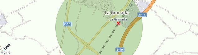 Mapa La Granada