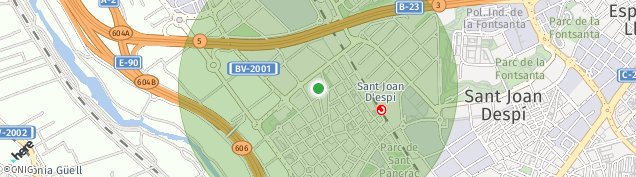 Mapa Sant Joan Despí