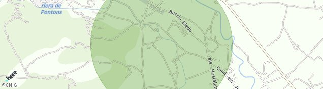 Mapa Sant Martí Sarroca
