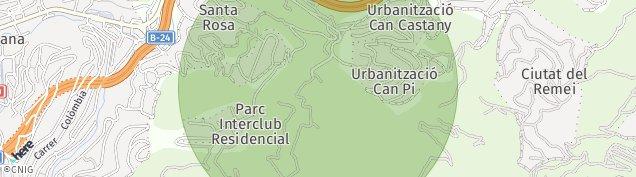 Mapa Inter-Club