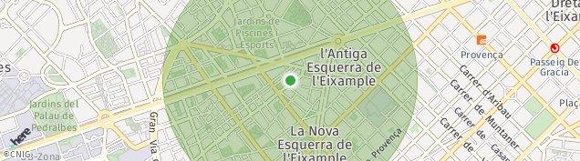 Mapa Barcelona