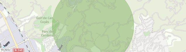 Mapa Sant Feliu de Llobregat