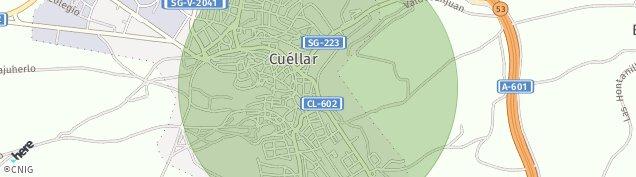Mapa Cuéllar